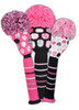 Just4Golf Pink Polka Dot Fairway Cover