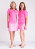 Birdies & Bows Pink Par Golf Skort