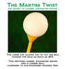 "Martini Tee 3 1/4"" Golf Tees"