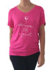 Bump & Run Pink Drive Like a Girl Tee - Size: XS