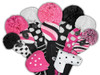 Just4Golf Pink & Black Polka Dot Driver Cover