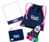 A&L Icon Golf Accessories - Towel, Wristlet, Shoe Bag, Socks