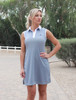2GG Platinum Performance Golf Dress - Grey