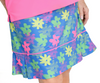 Birdies & Bows Fringe Floral Pleated Golf Skort
