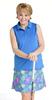 Birdies & Bows Fringe Floral Pleated Golf Skort