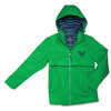 Ame & Lulu New Englander Tennis Lovers Rain Jacket - Kelly Green