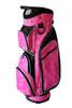 Taboo Fashions Monaco Pink Brushstrokes Ladies Golf Bag