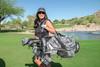 Glove It Shaded Leaf Zip Golf Accessory Bag