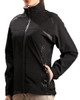 Glen Echo Ladies Black Stretch Tech Rain Jacket