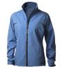 Glen Echo Ladies Blue Stretch Tech Rain Jacket - Size: S