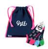 A&L Icon Golf Accessories - Drawstring Shoe Bag + Socks