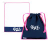 A&L Icon Golf Accessories - Drawstring Shoe Bag + Towel