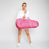 Ame & Lulu 3 Racquet Tennis Bag - Pink Grunge