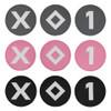 Ame & Lulu Ladies Grey Club Cover Set - Pink & Black
