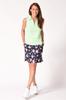 Golftini Green Sleeveless Tech Polo
