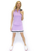 Golftini Lavender Sleeveless Tech Polo
