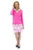 Golftini Rose Stretch Cotton Skort