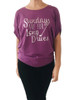 Bump & Run Purple Long Drives Circle Top