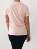 Bump & Run Golf Repeat Blush Pink Tee