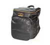 Sassy Caddy Pebbled Black Leather Back Pack