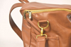 Sassy Caddy Honey Brown Leather Back Pack