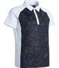 Abacus Sportswear Black Floral Lisa Polo