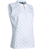 Abacus Sportswear Polka Dot Lisa Sleeveless Polo