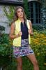 Golftini Designer Yellow / Grey Reversible Wind Vest