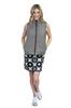 Golftini Grey Reversible Wind Vest