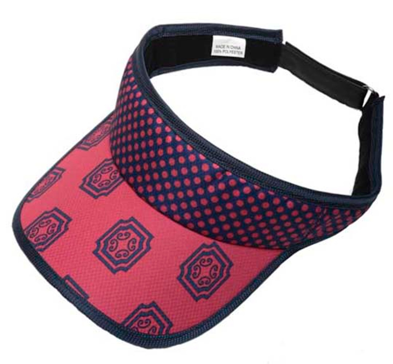 glove it orchid medallion ladies velcro golf visor  44469.1444790776.jpg c 2 imbypass on 76cf7d9c9fd