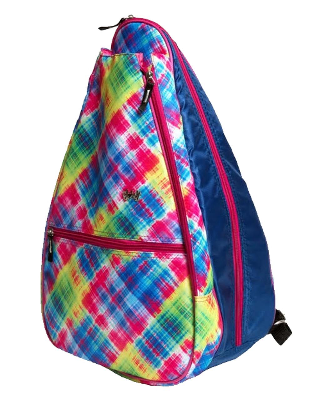 b70e798474 Glove It Women s Electric Plaid Tennis Backpack
