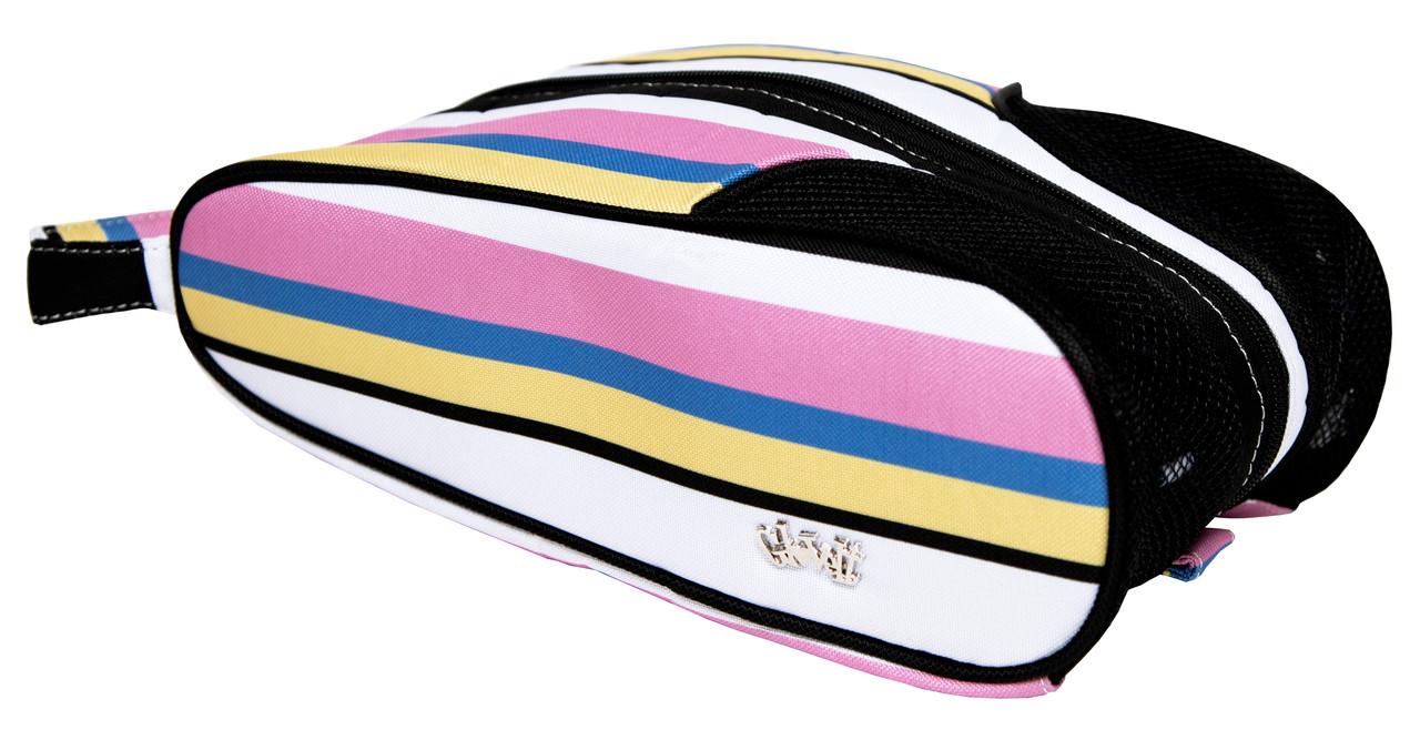 Golf Shoe Bag >> Glove It Ladies Cabana Stripe Ladies Shoe Bag