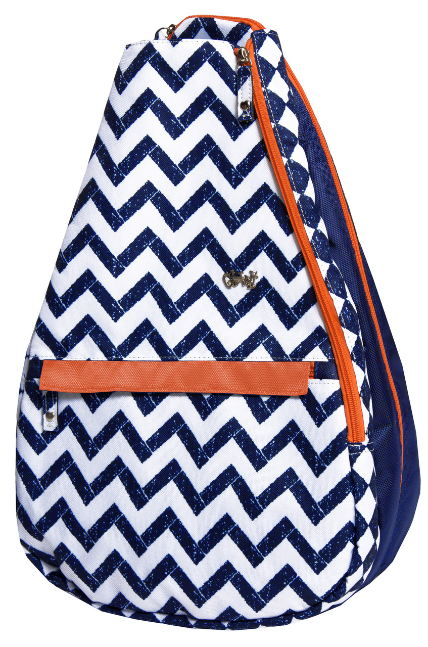 d03460865a60 Glove It Ladies Coastal Tile Tennis Backpack