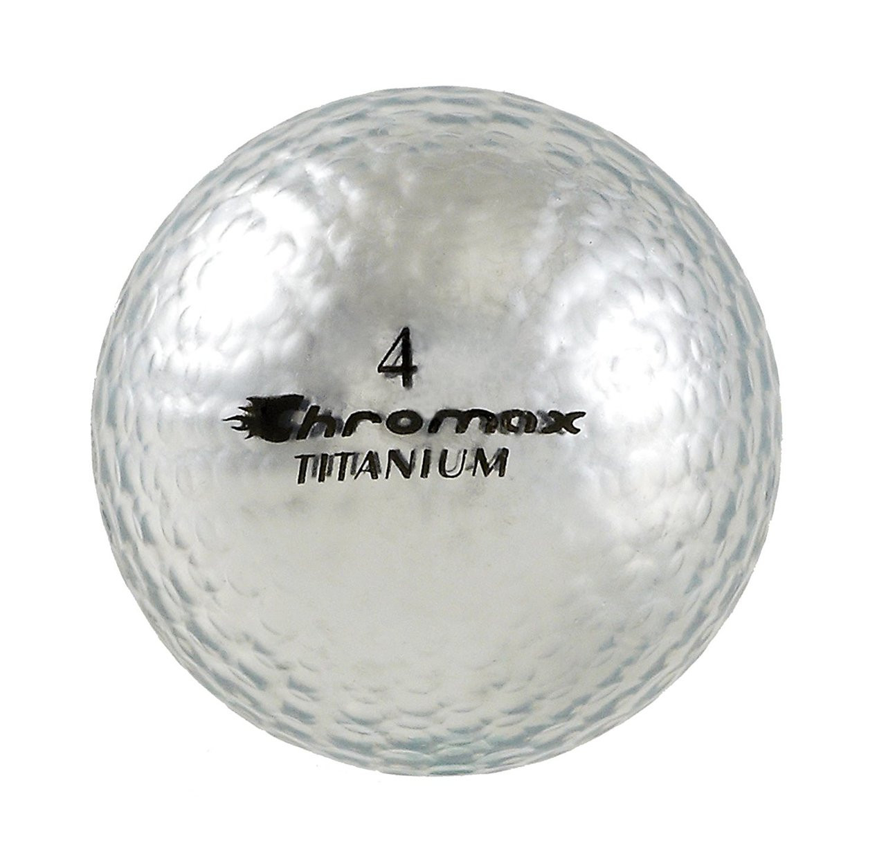 Chromax Metallic Silver Womens Golf Balls