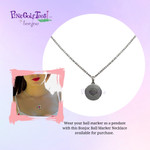 Wear your Bonjoc Swarovski Crystal as a necklace and look fashionable on and off the course