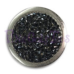 Black Crystal Rocks -  Bonjoc Swarovski Crystal Golf Ball Marker Accessory with magnetic hat clip.  Handcrafted with 100% genuine Swarovski crystal.  Perfect for corporate gifts or tee prizes. Comes with carrying pouch.