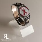 Abigale Lynn Pink Ribbon Ball Marker Bracelet