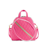 cinda b Calypso Tennis Tote -Haul and store all of your tennis gear in style, on and off the court, with this roomy tennis tote. The front racquet pocket holds up to 2 standard-sized racquets.
