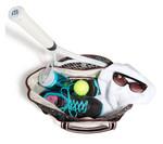 cinda b Jet Set Black Tennis Court Bag