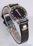 Golf Tee Ball Marker Bracelet with Black Band