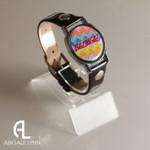 Bazinga Ball Marker Bracelet with Black Band