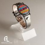 Bazinga Ball Marker Bracelet with Grey Band