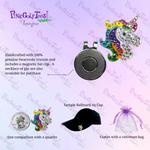 Bonjoc Unicorn Dreams Swarovski Crystal Ball Marker