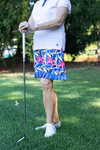 Birdies & Bows On The Fringe Golf Skort - Wedged Wildflowers