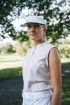 Abacus Sportswear Lisa Sleeveless Pale Pink Polo