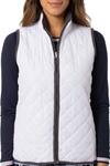 Golftini White / Grey Reversible Wind Vest