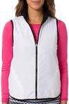 Golftini Black / White Reversible Wind Vest