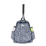 Ame & Lulu Game On Tennis Backpack - Navy Leopard