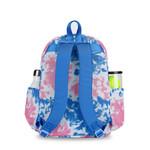 Ame & Lulu Big Love Blue Pink Tie Dye Kid's Tennis Back Pack