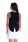 Golftini Sleeveless Sport Stretch Tie Top - Black